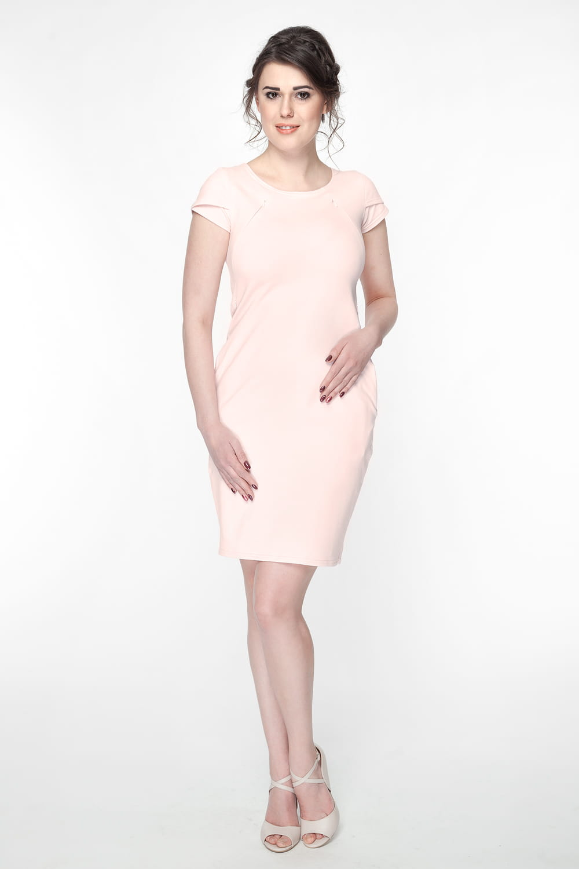 89800c374a7afd Sukienka do karmienia i ciążowa Milky Way pudrowy róż Milk and Love ...